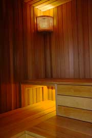 die sauna der wohnung in hamburg bergedorf sternwartenpalais. Black Bedroom Furniture Sets. Home Design Ideas